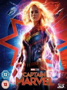 [英] 驚奇隊長 3D (Captain Marvel 3D) (2019) <2D + 快門3D>[台版]